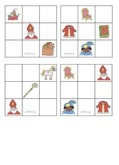 Juf Emmy! Topologie Sint Gradatie 1 deel 1 Atelier Theme, Sudoku, St Nicholas Day, Saint Nicolas, Caribbean Netherlands, Activities For Kids, December, Spring, Winter