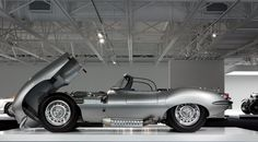 1957 Jaguar XKSS, also from RL's collection.