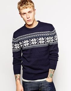 French+Connection+Fairisle+Chest+Jumper