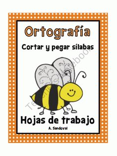 Spelling Work Cut and Paste Syllables in Spanish product from Angelica-Sandoval on TeachersNotebook.com