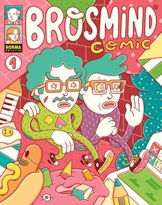 Brosmind insane illustrations, comics and stickers