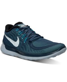 quality design 16225 de4b2 Nike Men s Free 5.0 Flash Running Sneakers from Finish Line Athletic Men, Athletic  Shoes,