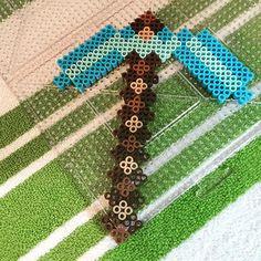 Minecraft perler beads by Jake Tastic