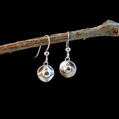 Fine Silver Mini Regal Drop Earrings