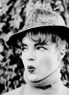 - Romy Schneider, 1960s.
