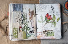 """by Olga Sycheva: """"Вышивально-ботанический СП"""" 5 этап и мой ботанический дневник полностью собран!"""