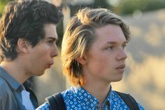 Nat Wolff and Jack Kilmer in Palo Alto.  makeup and hair by me.