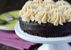 Recipe: Dark Chocolate Guinness Cake with Bailey's Buttercream