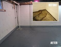 Diy basement waterproofing on pinterest basement for Basement building cost calculator