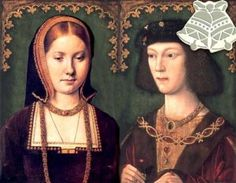 On this day 11th June, 1509, seventeen year old King Henry VIII married twenty three year old Catherine of Aragon, his brother Arthur's widow, in the Queen's Closet at Greenwich Palace