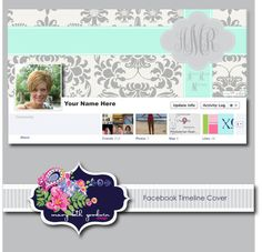 Custom Facebook Timeline Cover for Personal or by MaryBethGoodwin, $8.00