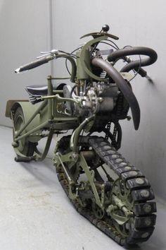 Mercier 1937 Moto Chenille 350cc