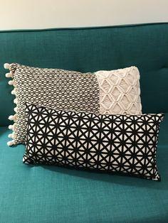 Love the vibes in my apartment now, thanks to these pillows from TJMaxx & Novogratz futon