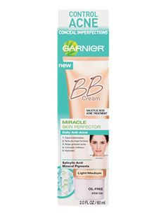 Garnier Miracle Skin Perfector BB Daily Anti-Acne - Light/Medium (may be too dark for me)