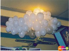 Balloon clouds