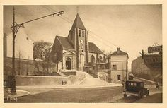Paris-bise-art : Église Saint-Germain-de-Charonne - La renaissance