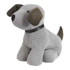 Ladelle Dog Door Stop Grey
