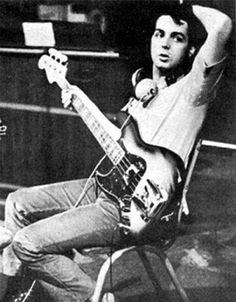 Paul McCartney. Because he is such a great music writer, one can forget that he is one of the greatest bass guitar players in history of rock and pop music. #bassguitar