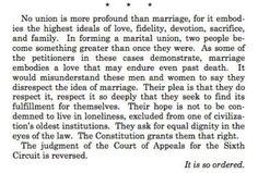 Justice Kennedy, Obergefell v. Hodges