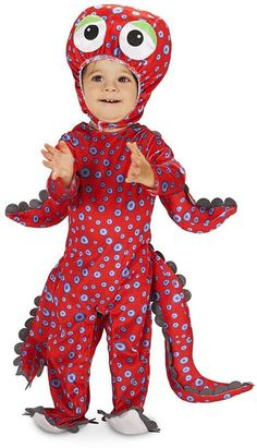 Pin for Later: 169 Warm Halloween Costume Ideas That Won't Leave Your Kids Freezing Swimming Octopus Costume Swimming Octopus Costume ($45)