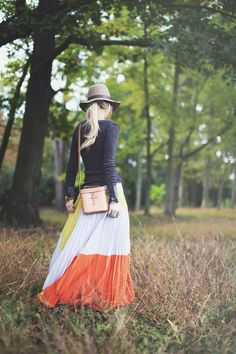 exPress-o: full skirts for autumn!  This one is just fabulous!  #skirts #autumn
