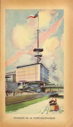 Pavillon de la Tchecoslovaquie - Czechoslovakia pavilion