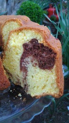Sweets Recipes, Cake Recipes, Desserts, Greek Sweets, Snap Food, Greek Cooking, Macaron Recipe, Marble Cake, Brownie Cake