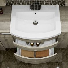 Bardolino Oak - This amazing curved basin unit looks stunning and provides plenty of storage. Fitted Bathroom Furniture, Modern Furniture, Home Furniture, Basin Unit, British Home, Downstairs Loo, Furniture Manufacturers, Bathrooms, Storage