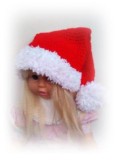 Crochet baby Christmas hat Baby Santa hat Baby by ROSSIBOUTIQUE