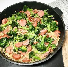 Pulled Pork, Summer Recipes, Broccoli, Nom Nom, Detox, Sausage, Food And Drink, Favorite Recipes, Baking