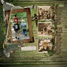 Fishing - digital scrapbooking - gallery - upload your scrapbook pages ...