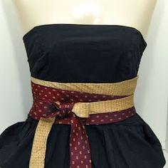 Belts from Neckties