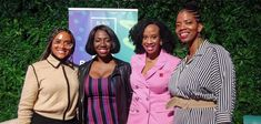 "Black Women Talk Tech is holding its fourth ""Roadmap To Billions"" conference. Black Women Talk Tech is holding its fourth ""Roadmap To Billions"" conference, celebrating the intersection of Black Hist Black Girls, Black Women, African American News, Women In History, Black History Month, Celebrities, Free Crochet, Crochet Pattern, Conference"