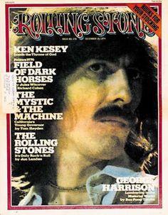 George Harrison Cover photo by Annie Leibovitz December 1974