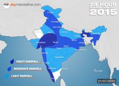 Monsoon India 2015: Southwest Monsoon Forecast For July 21 - See more at: http://www.skymetweather.com/content/weather-news-and-analysis/monsoon-india-2015-southwest-monsoon-forecast-for-tomorrow/#sthash.HiWkFgCa.dpuf