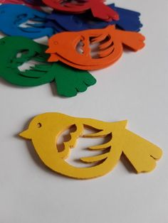 Bird Die Cut Out ( Spring Decoration, Baby Shower, Embellishments, Scrap Booking, Card Making Supplies ) Spring Decoration, Class Decoration, Valentine Decorations, Baby Shower Decorations, Blue Envelopes, Card Making Supplies, Leaf Art, Diy Home Crafts, Spring Crafts