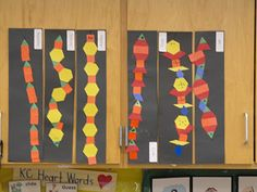 Pattern snakes - create after reading Sultan's Snakes by Lorna Turpin