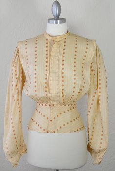 - Perhaps One Afternoon Visit - Vintage Edwardian Antique VICTORIAN Blouse by RedLightVintageShop