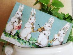 Musical bunnies free Easter printable