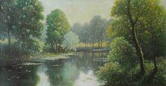 Emile Gauffriaud Rivers, Painting, Art, Art Background, Painting Art, Kunst, River, Paintings, Performing Arts