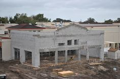 Here's the Kitchen/Dining expansion from the outside. Shot from the third floor of MiraclePlace. | Metropolitan Ministries in Tampa