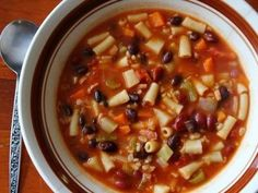 Spanish Bacon and Vegetable Soup