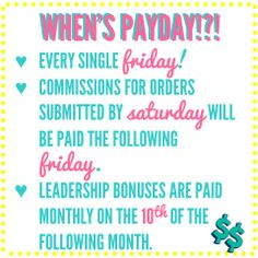 How would you like to get paid EVERY FRIDAY!  Join us at Origami Owl and never have to wait for a pay check again!  Work your own hours - do what you love - and you can determine your pay check!  http://loveablelockets.com