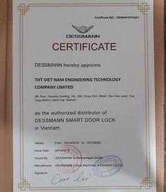Khóa cửa vân tay Dessmann G800FP ( Đức) cao cấp giá gốc Smart Door Locks, Engineering Technology