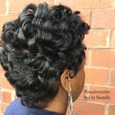 Natural Hair Silk Press, Cut and Style