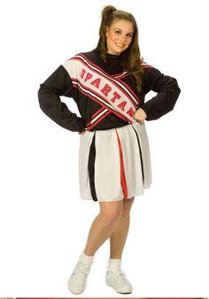 Yo! A Plus Size SNL Spartan Cheerleader Costume!!!