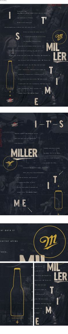 Copy/Print.  Visually stimulating.   Made me want to read (even though I dont read Spanish) Miller Print - Tales Lima Art Director: