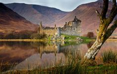 Kilchurn Castle, Scotland It was the ancestral home of the Campbells of Glen Orchy, who later became the Earls of Breadalbane also known as the Breadalbane family branch, of the Clan Campbell.
