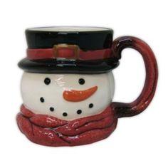 St. Nicholas Square Yuletide Snowman 11-oz. Mug