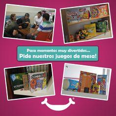 La diversión y el antojo nunca terminan! Pide nuestros juegos de mesa GRATIS y pasa grandes momentos en #Rocketto! www.rocketto.com